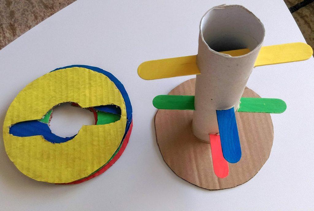 DIY παιχνίδια για μικρά παιδιά