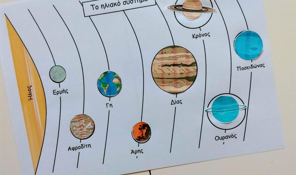 Μαθαίνω για το Ηλιακό Σύστημα