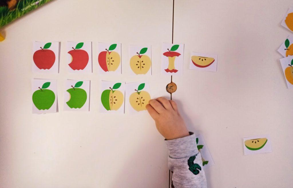 Μήλα: δραστηριότητα ταξινόμησης χρωμάτων