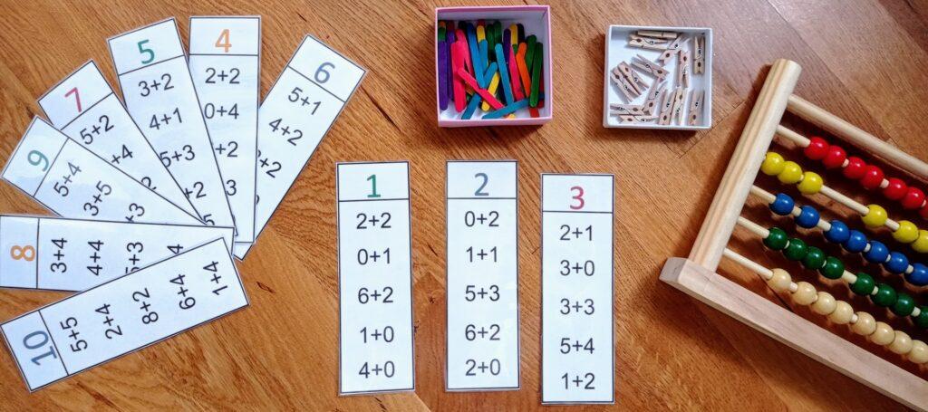 Τα Πρώτα μου Μαθηματικά/Για παιδιά Νηπιαγωγείου και Α' Δημοτικού